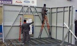 Строительство торговых павильонов в Сургуте БМЗ